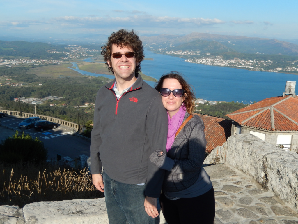 On top of Mount Tecla, all covered with cheese...