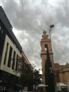 Cloudy in Castellón