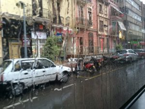 Vila-real is getting wet