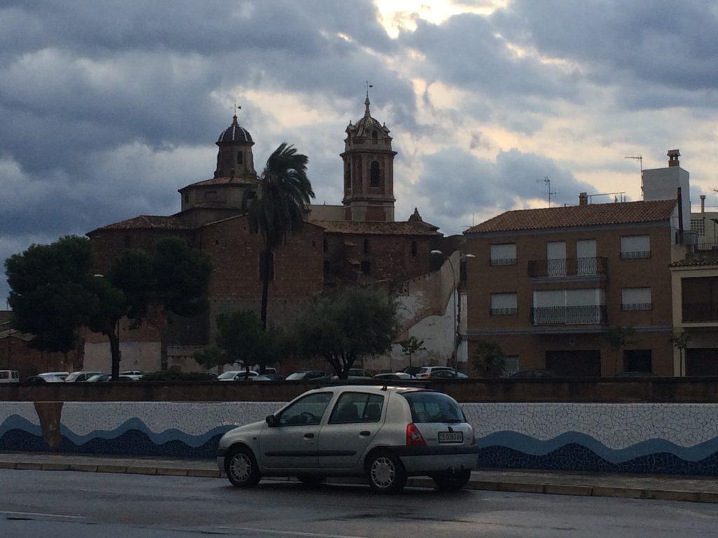 Burriana after the rain