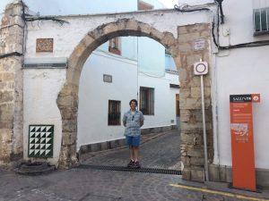 About to enter the Judería
